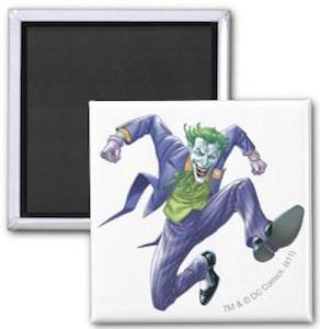 The Joker Fridge Magnet for Batman fans