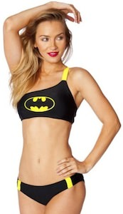 Batman low rise bikini set