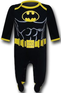 Batman Costume Baby Snapsuit