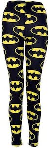 Bat symbol leggings