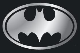 bat logo window decal for your bat mobile