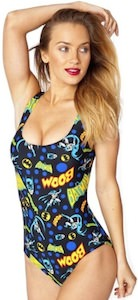 Women's Batman swimsuit