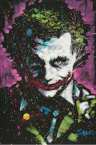 Batman - The Joker Pain Splatter Poster