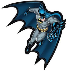 Batman Action Sticker