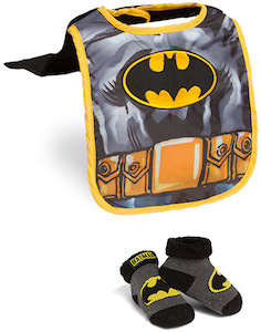 Batman Bib And Booties