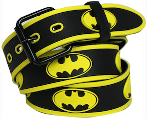 Batman Embossed Logo Belt