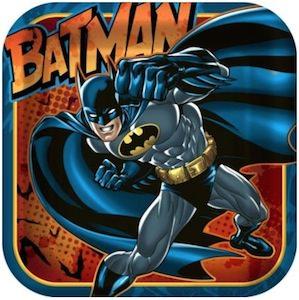 Batman paper Party Plates