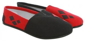 DC Comics Harley Quinn Flat Shoes