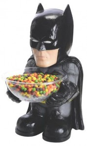 Batman Bowl Holder Figure And Bowl