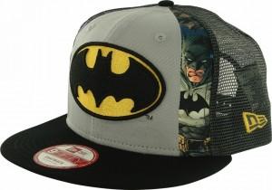 Batman Dye Slice Mesh Hat