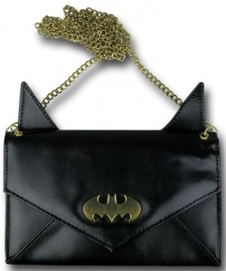 Batman Envelope Clutch Purse