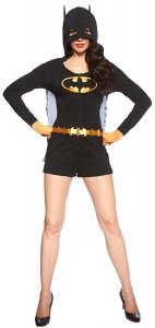 Ladies' Batman Caped Romper