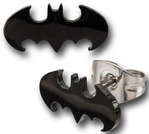 Batman Die-Cut Stud Earrings