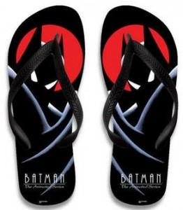 Batman The Animated Series Flip Flops