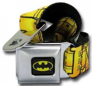 Seatbelt Style Batman Belt
