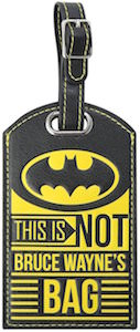 Batman This Is Not Bruce Wayne's Bag Luggage Tag