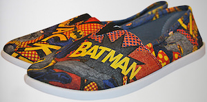 Batman Comic Flat Shoes