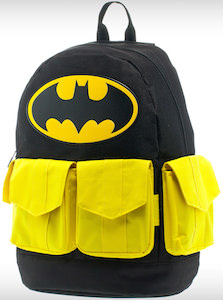 Batman backpack for school or work