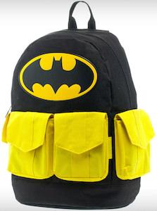 Batman backpack for school or work