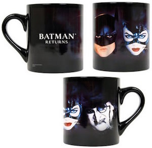 Batman Returns Movie Black Mug