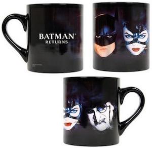 Batman Returns Movie Black Mug