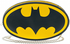 Batman Logo Shaped Handbag