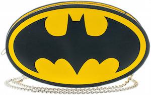 Batman Logo Shaped Handbag