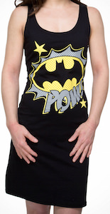 Batman Logo And Pow Women's Dress