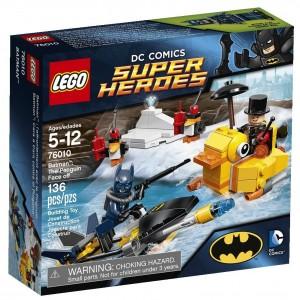 LEGO Batman And Penguin Face Off Set