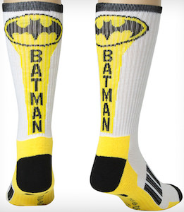Batman Searchlight Crew Socks