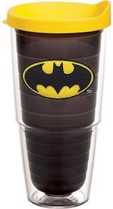 Batman Logo Double Walled Tumbler