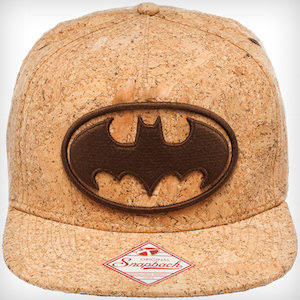 Batman Logo Cork Snapback Hat