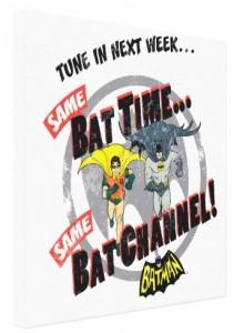 Batman Same Bat Time Canvas Print