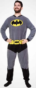 Batman Fleece One Piece Costume Pajama