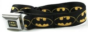 Batman Logo Seatbelt Style Belt