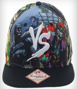 Batman vs Joker Snapback Hat
