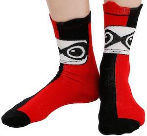 Harley Quinn fun socks