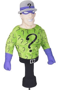 The Riddler Golf Club Head Cover