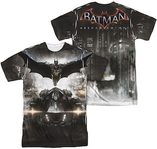 Batman Sublimated Arkham Knight T-Shirt