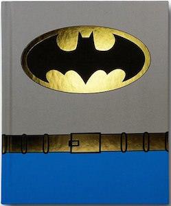 Batman Costume Notebook