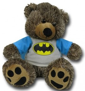 Classic Batman Plush Teddy Bear