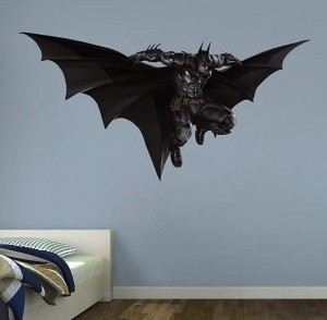 Arkham Knight Batman Leaping Wall Decal