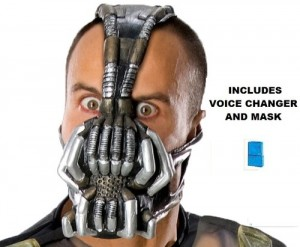 Bane Costume Mask And Voice Changer