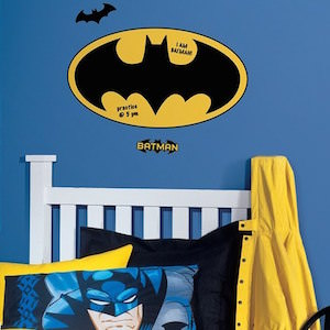 Batman Symbol Dry Eraser Wal Decal
