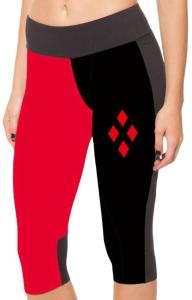 Harley Quinn Capri Yoga Pants