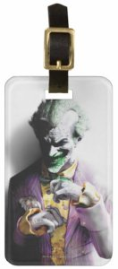 Mischievous Joker Luggage Tag