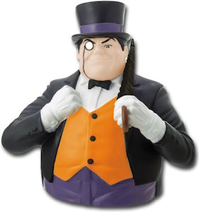 Penguin Bust Money Bank