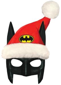 Santa Hat With Batman Mask