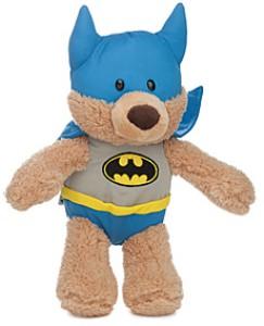 Fuzzy Plush Batman Bear