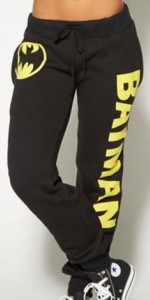 Girls Batman Symbol And Name Jogging Pants